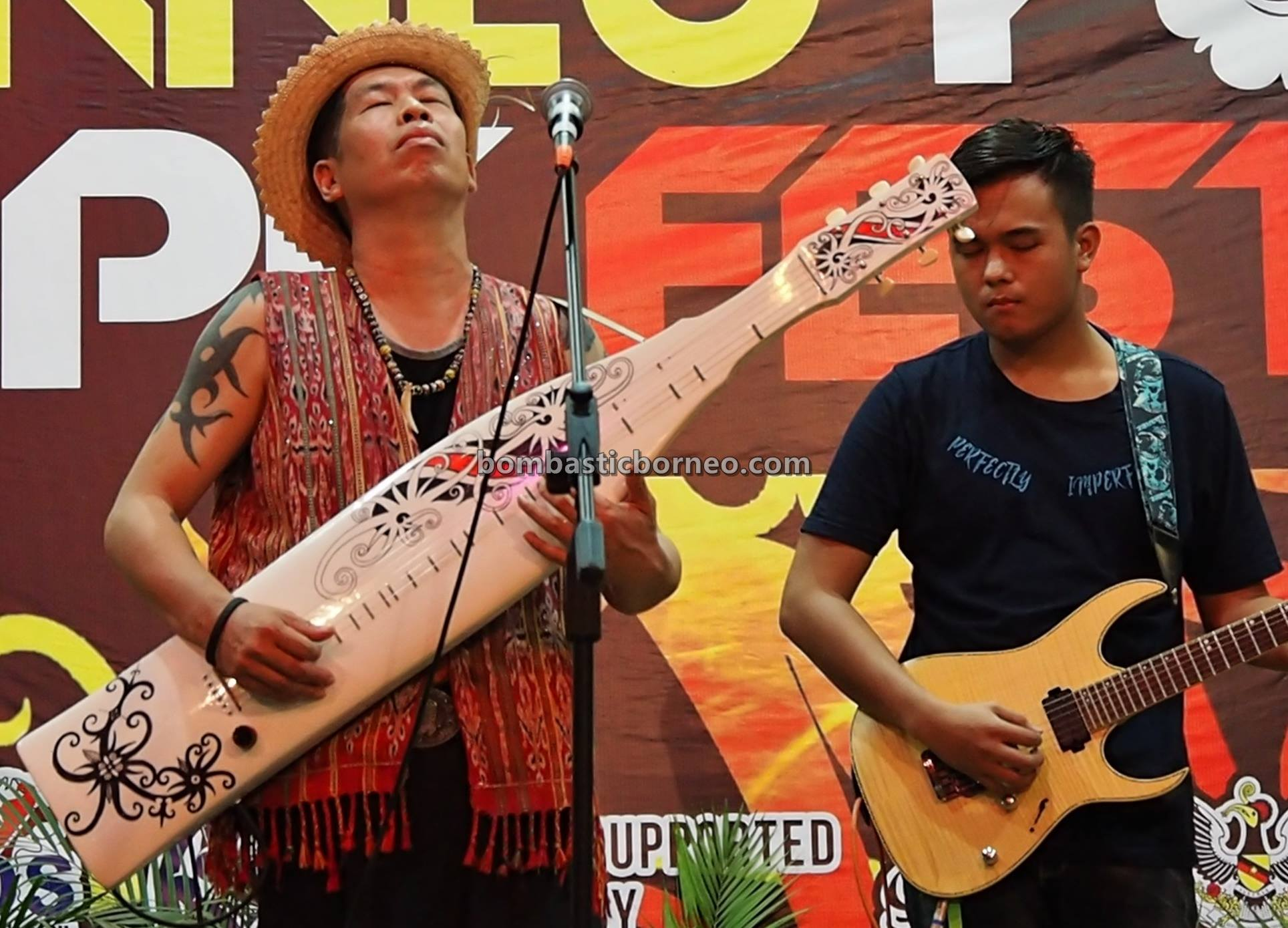 Youth Sape Festival, traditional, backpackers, culture, Ethnic, indigenous, orang ulu, musical instrument, Sibu, One Malaysia Cultural Village, Tourism, travel guide, 婆罗洲土著音乐文化, 砂拉越达雅吉他, 马来西亚原住民沙贝
