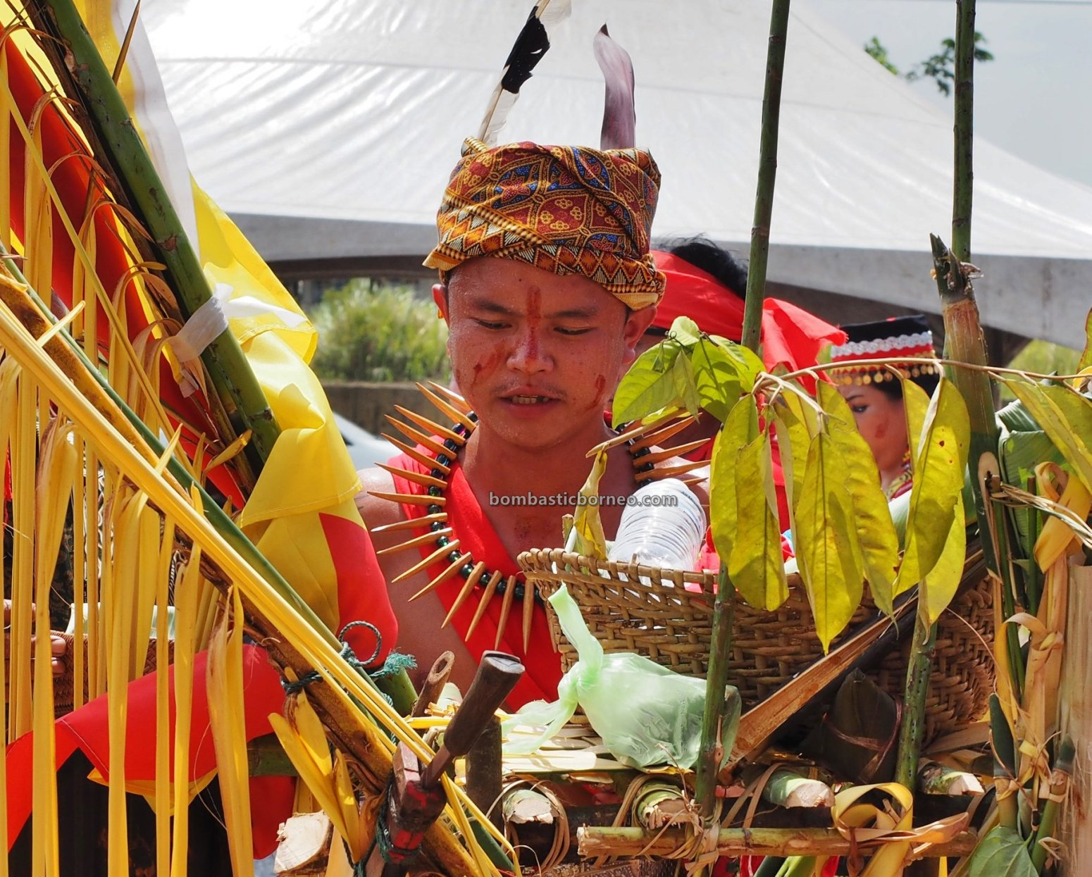 Pesta Nyarok Biya, Bengoh Dam Resettlement Scheme, authentic, culture, ritual, dayak bidayuh, tribal, tribe, indigenous, Kampung Gumbang, Borneo, travel guide, cross border, 婆罗洲比达友文化, 古晋砂拉越原住民