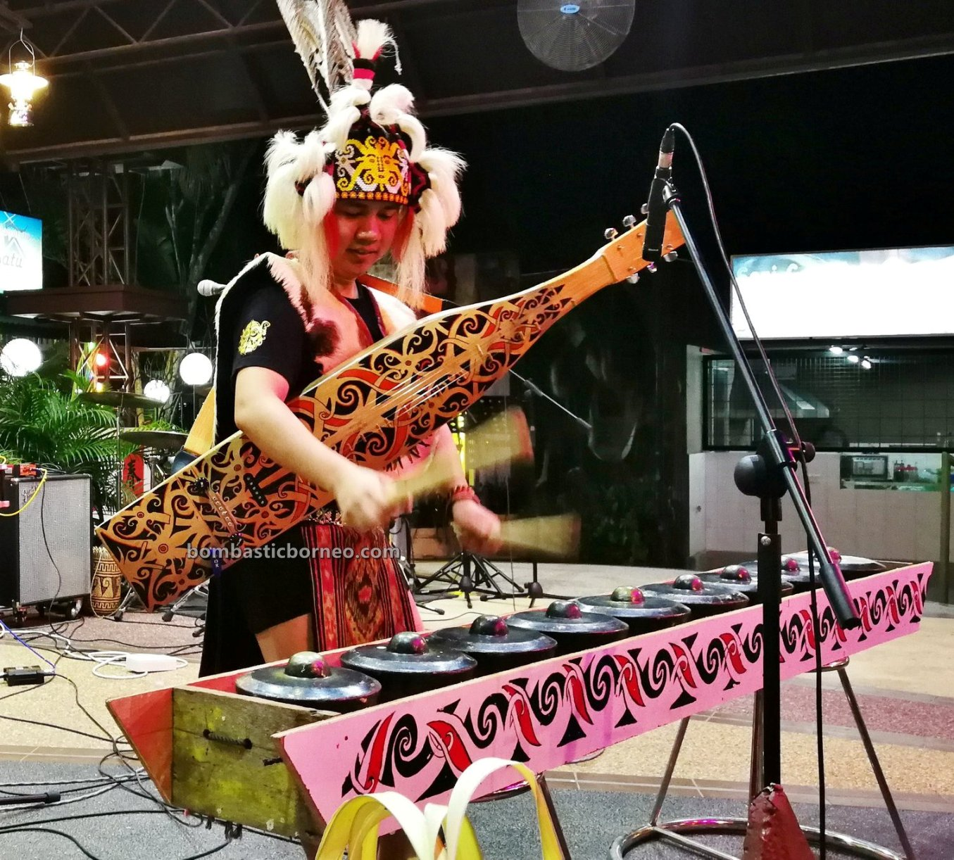Youth Sape Festival, authentic, traditional, culture, native, tribal, musical instrument, Sibu, Malaysia, Tourist attraction, travel guide, Trans Border, 探索婆罗洲沙贝音乐, 砂拉越原住民吉他, 马来西亚达雅文化