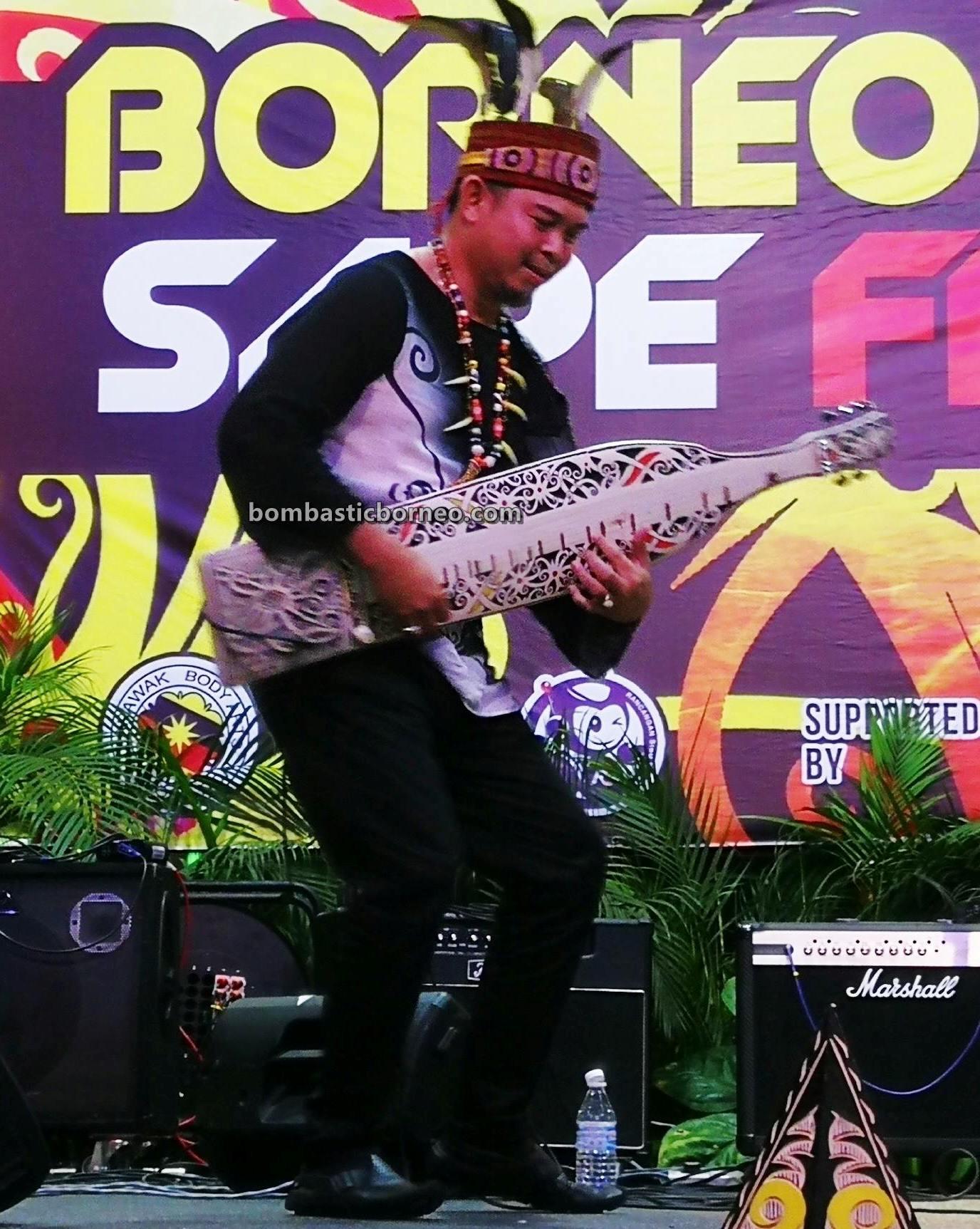 guitar, Youth Sape Festival, traditional, culture, event, native, tribal, indigenous, musical instrument, Tourism, tourist attraction, travel guide, cross border, 婆罗洲达雅吉他, 砂拉越音乐文化, 马来西亚原住民沙贝