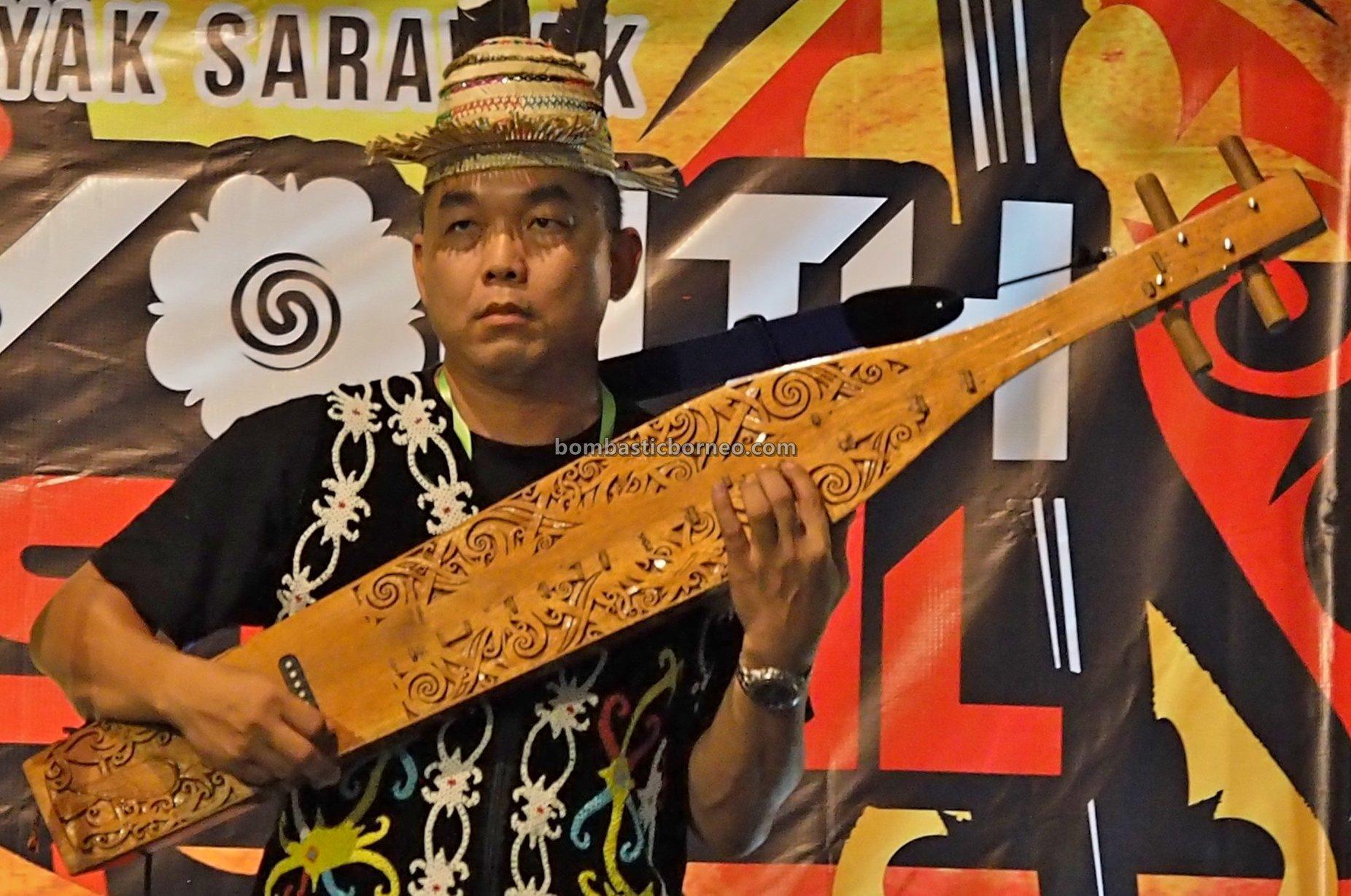 Youth Sape Festival, authentic, traditional, Ethnic, native, tribal, orang ulu, Sibu, Malaysia, Tourism, travel guide, guitar, 婆罗洲肯雅族沙贝, 砂拉越原住民吉他, 马来西亚达雅音乐