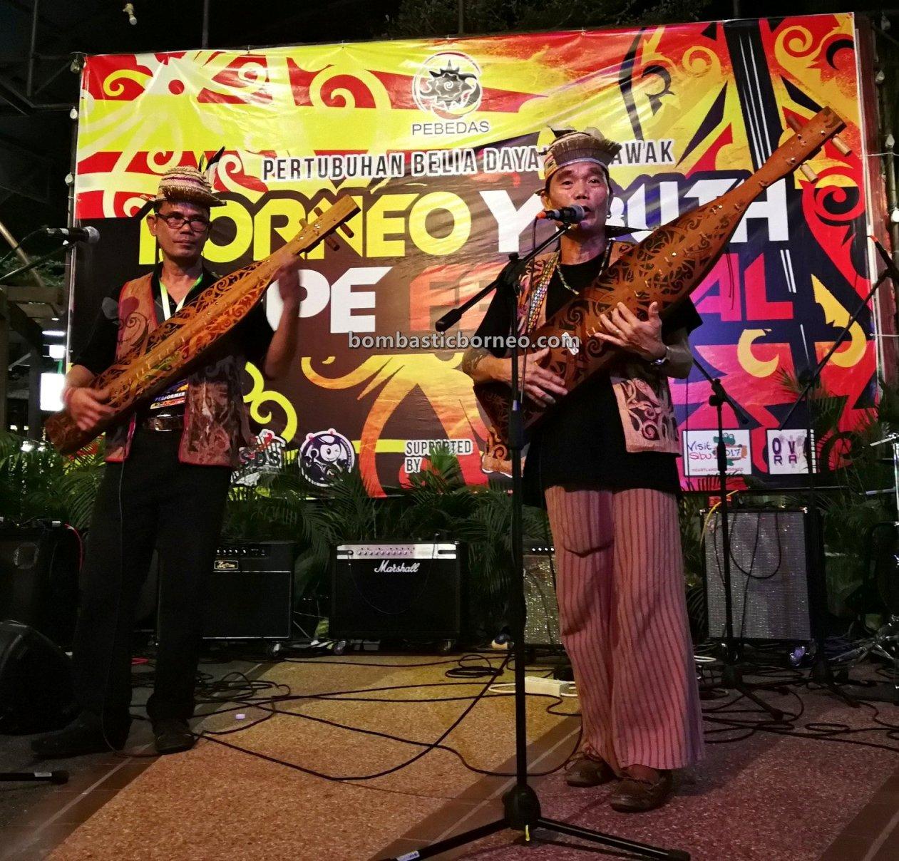 Borneo guitar, Youth Sape Festival, authentic, culture, native, indigenous, orang ulu, tribe, Tourism, tourist attraction, travel guide, Trans Border, 婆罗洲肯雅族沙贝,, 砂拉越马来西亚, 原住民音乐文化,