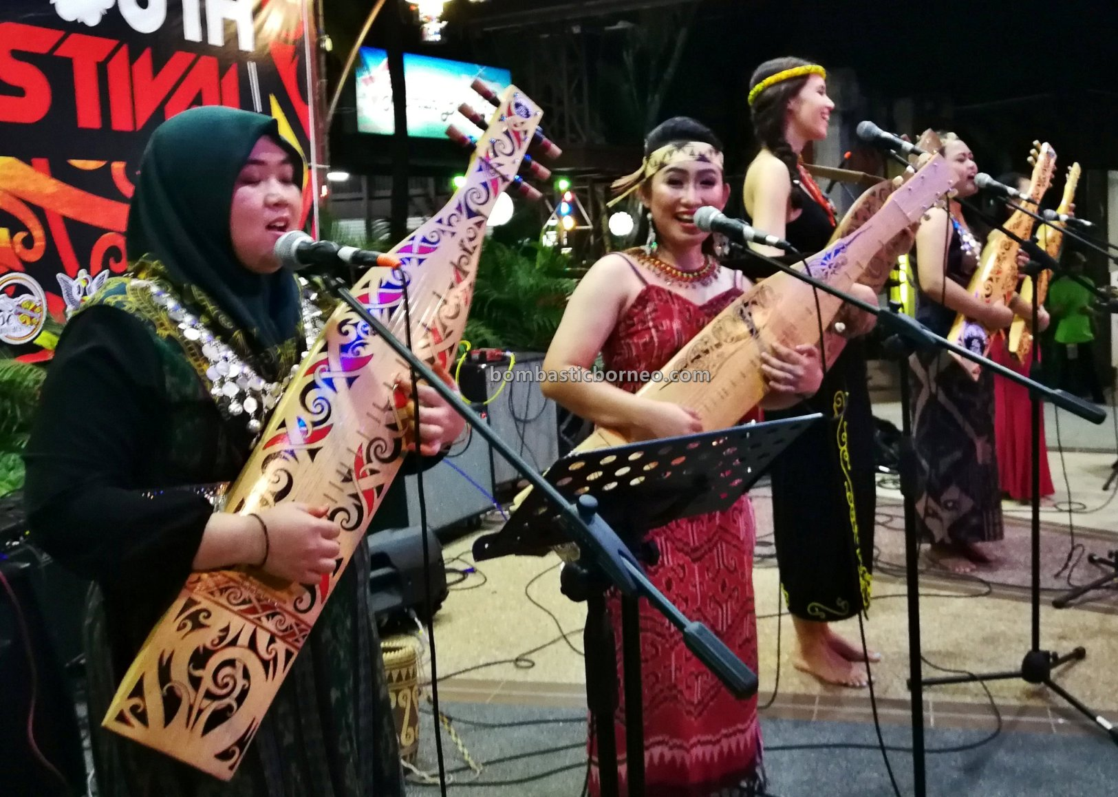 Youth Sape Festival, authentic, backpackers, Ethnic, native, tribal, indigenous, orang ulu, Malaysia, Tourism, travel guide, cross border, 婆罗洲达雅吉他, 砂拉越沙贝音乐, 马来西亚原住民