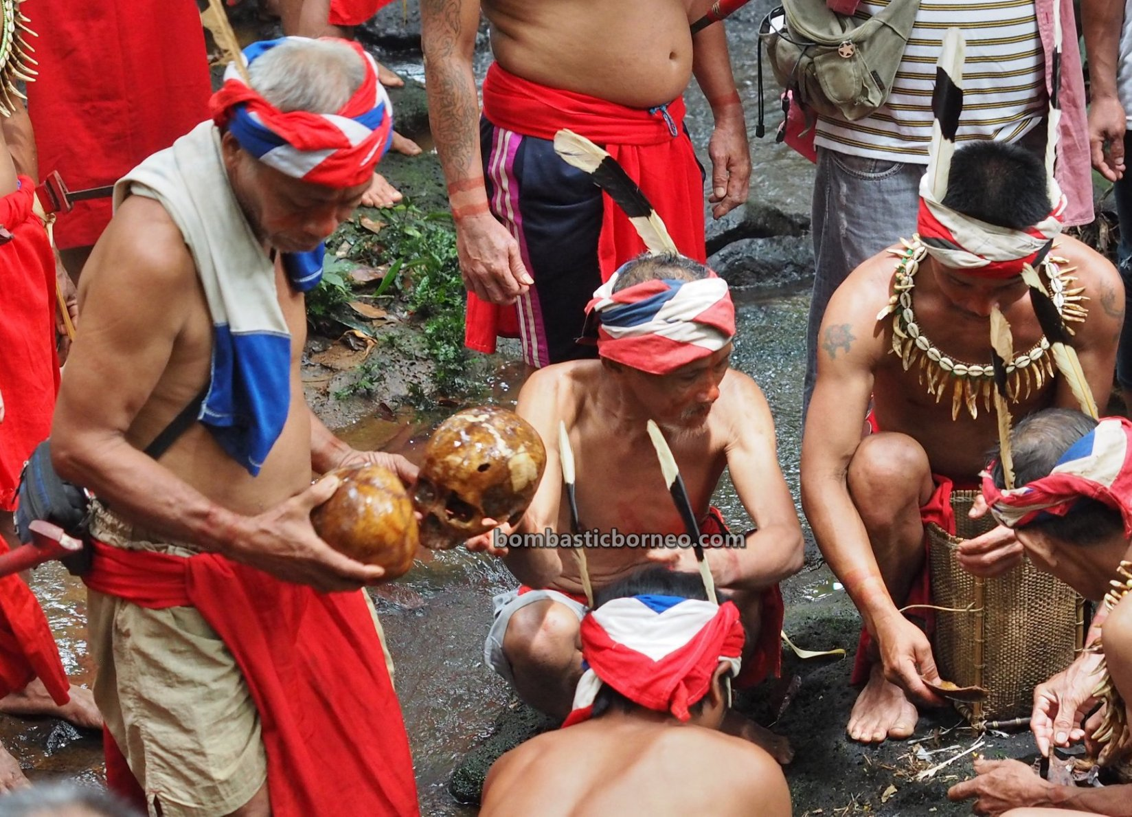 Mandi Tengkorak, Nyobeng Rambai, Harvest Festival, authentic, ritual, culture, Indonesia, West Kalimantan, Bengkayang, Desa Sahan, Dayak Bidayuh, tribal, Tourism, tourist attraction, travel guide, Trans Borneo