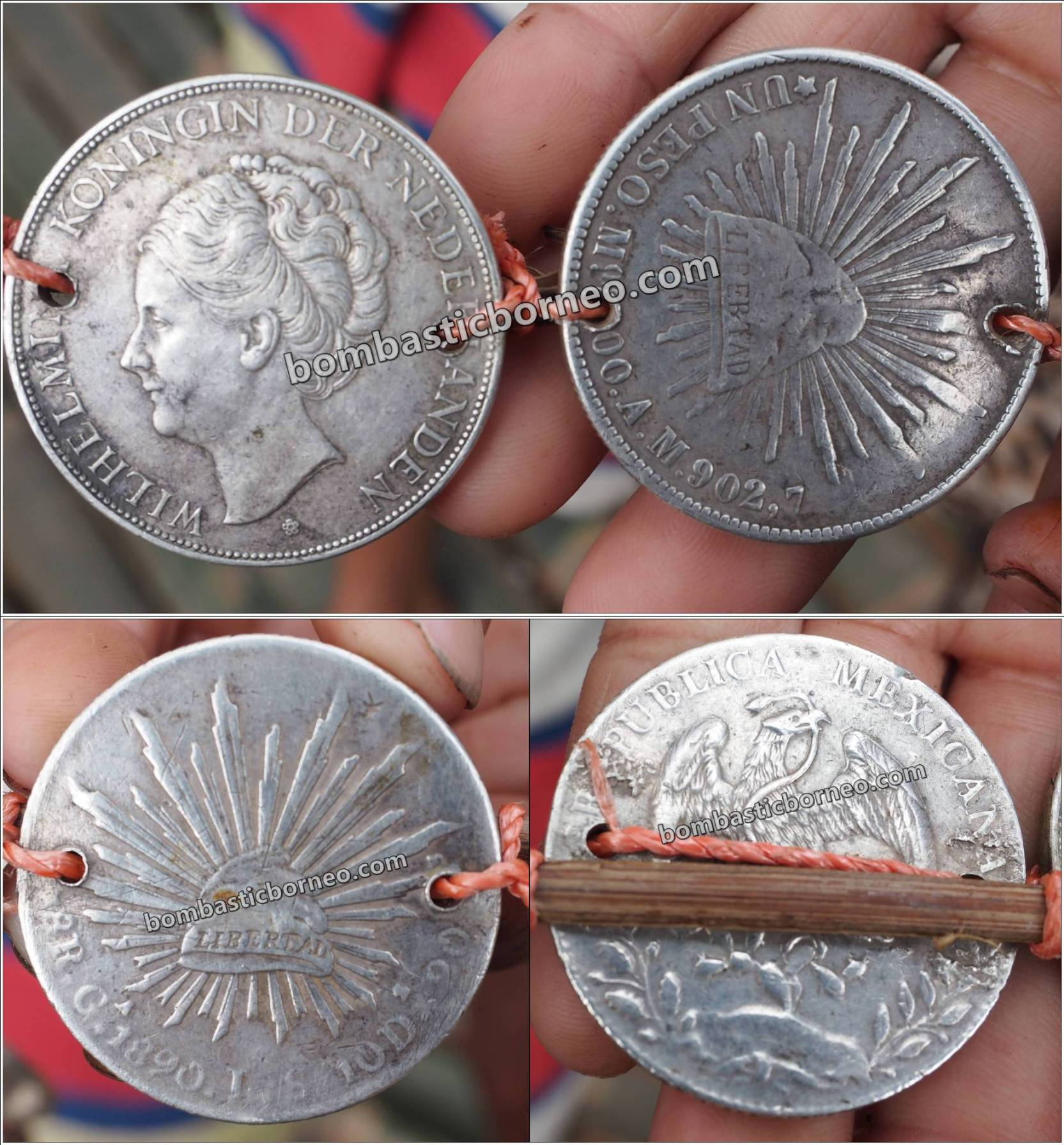 antique coin, ancient, Antik Koin, Netherlands, Belanda, Dutch, authentic, traditional, Tourism, travel guide, trans border, Borneo, Indonesia, Bengkayang, West Kalimantan, Holland