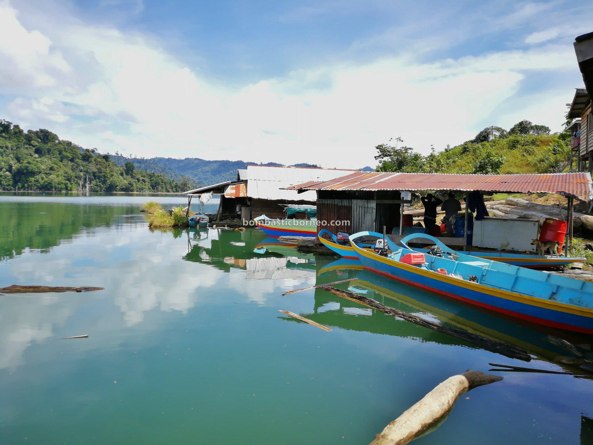 Bakun Hydroelectric Power Dam, empangan, native, Sungai Balui, fishing trip, homestay, Belaga, Kapit, Sarawak, Tourism, tourist attraction, travel guide, Cross Border, Borneo, 婆罗洲钓鱼之旅,