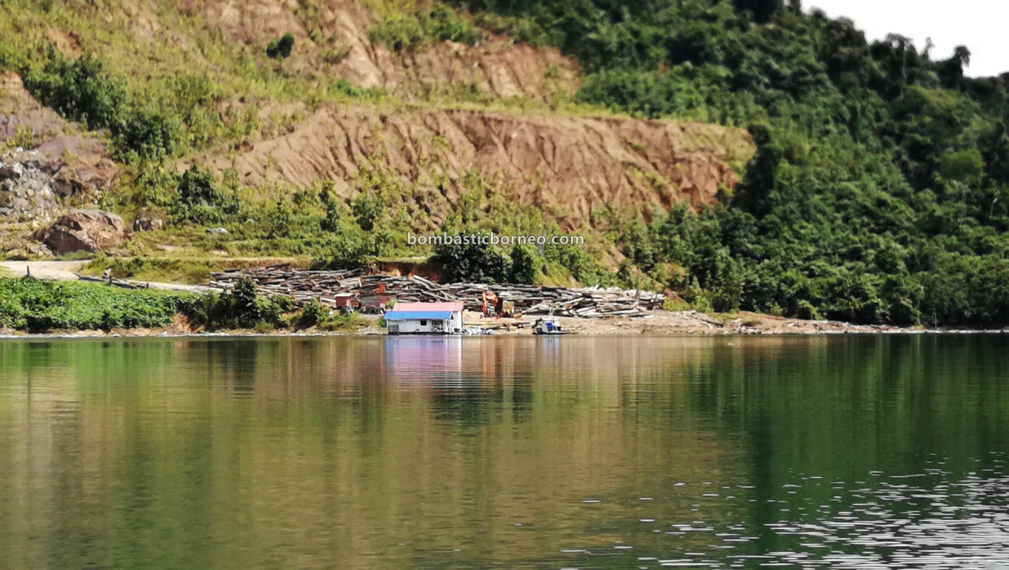 Embankment Dam, empangan, backpackers, Sungai Balui, fishing trip, memancing ikan, homestay, Tourism, tourist attraction, Borneo, 婆罗洲巴贡水电站, 砂拉越巫拉甲, 马来西亚钓鱼之旅