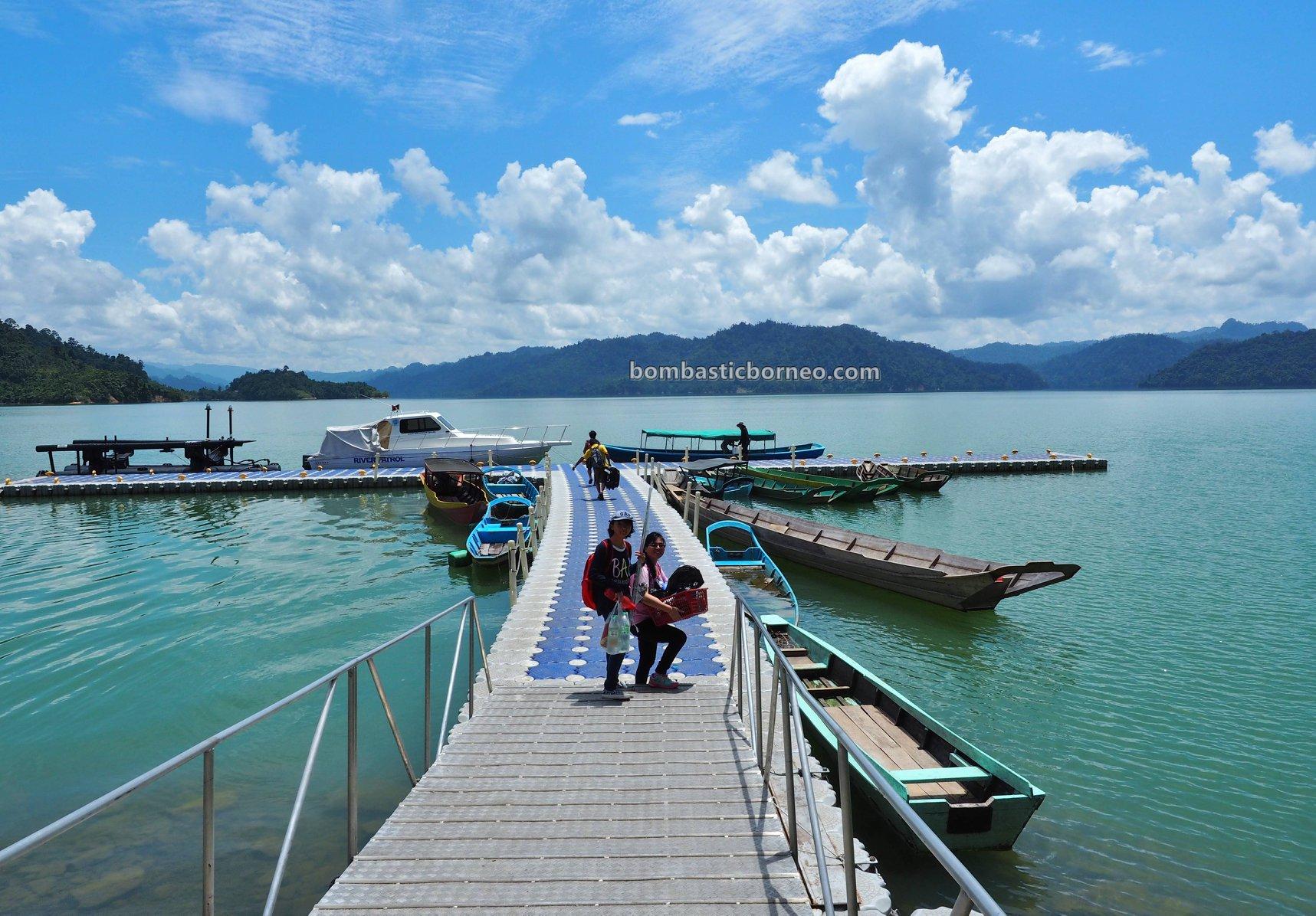 Hydroelectric Power, empangan, backpackers, destination, fishing trip, memancing ikan, wharf, Belaga, Kapit, Tourism, travel guide, Cross Border, Borneo, 穿越婆罗洲游踪, 砂拉越巴贡水电站, 马来西亚旅游景点,