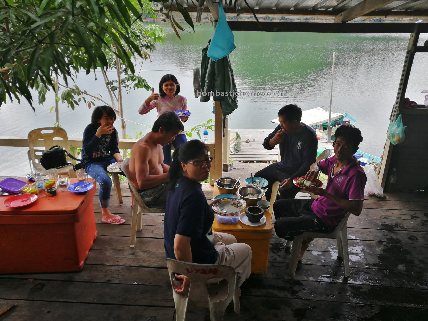 empangan, backpackers, Ikan semah, traditional, fishing trip, memancing, chalet, Belaga, Kapit, native, Tourism, tourist attraction, travel guide, 砂拉越巴贡水电站, 马来西亚钓鱼之旅,