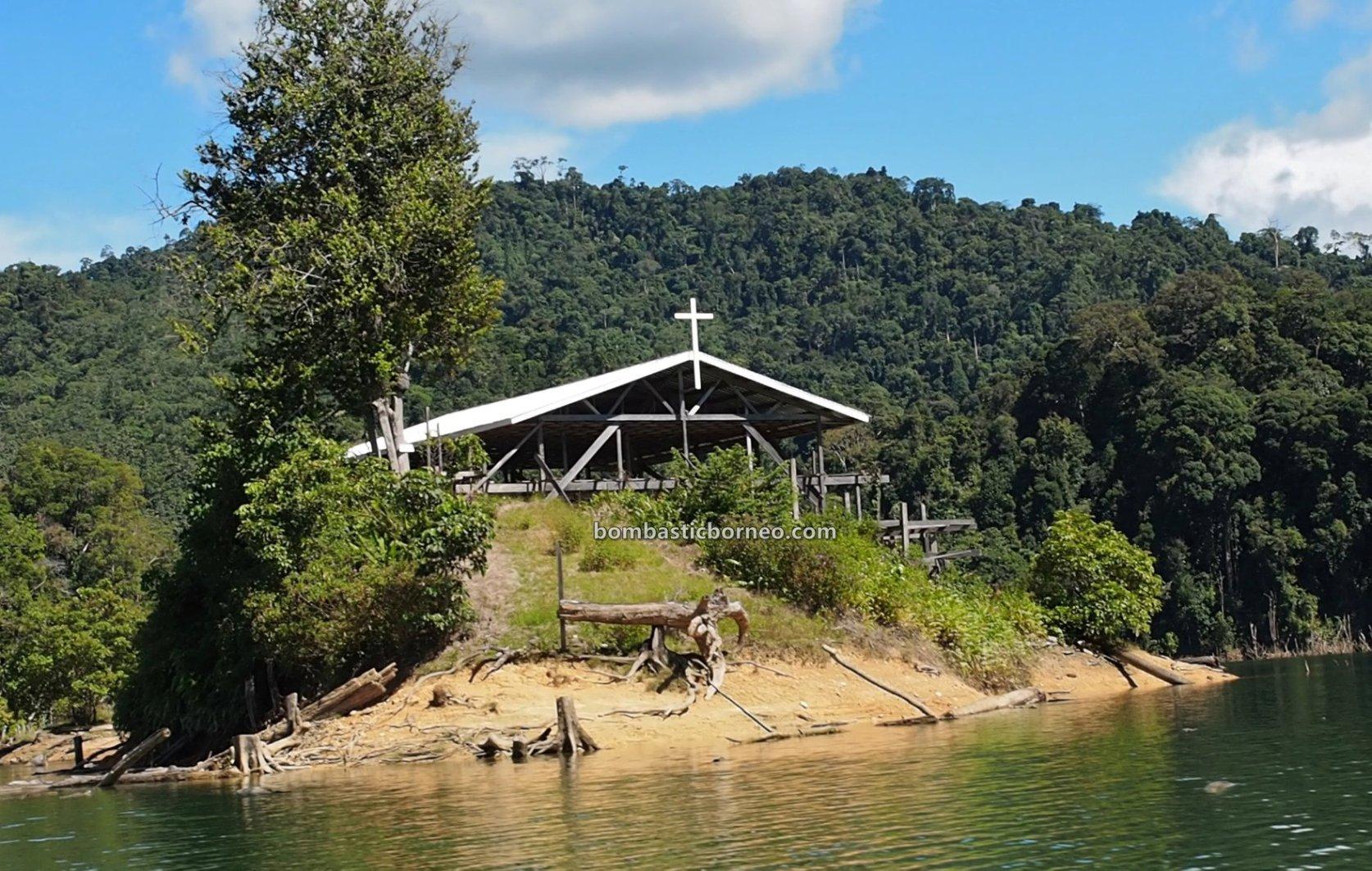 Embankment Dam, empangan, backpackers, destination, Sungai Balui, native, homestay, Belaga, Kapit, Malaysia, Tourism, travel guide, Borneo, 砂拉越峇贡水坝, 巫拉甲马来西亚,