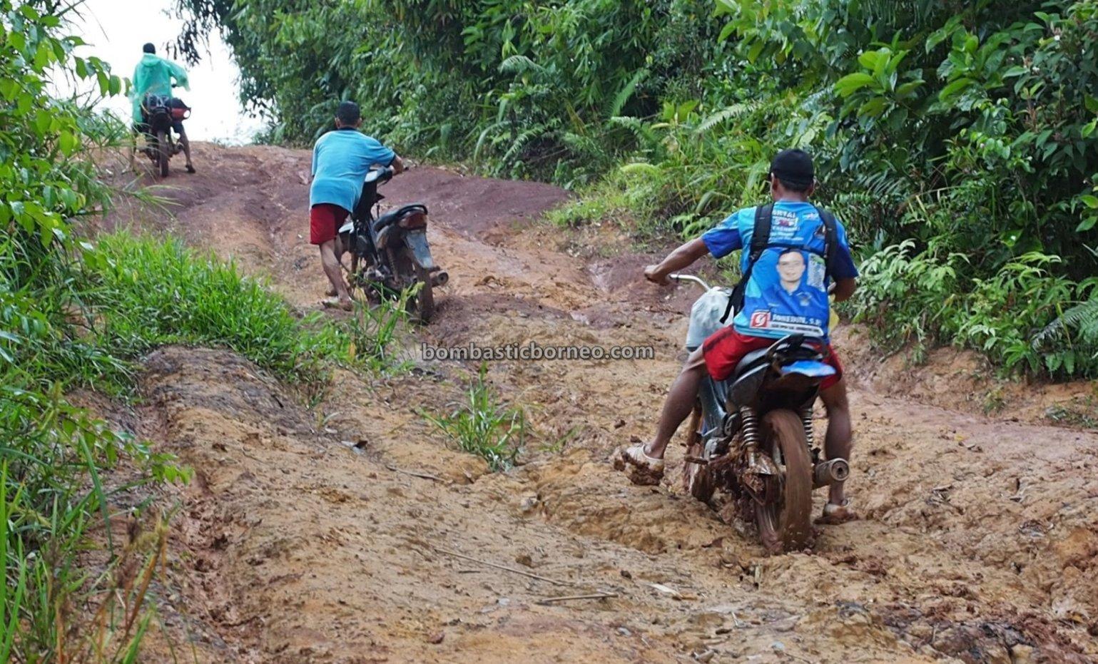 Dusun Kambih, backpackers, event, Bike ride, Desa Bengkawan, Seluas, Dayak Kowon't, native, obyek wisata, Tourism, Travel guide, village, 探索婆罗洲游踪, 印尼西加里曼丹, 孟加映土著部落