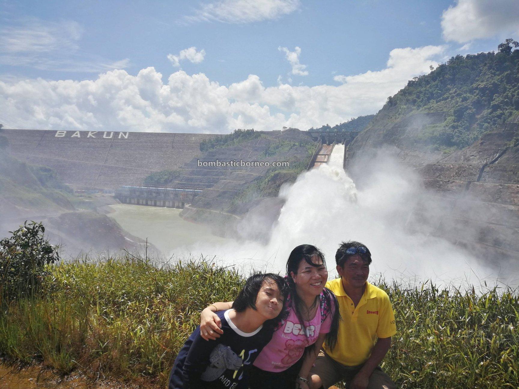 Hydroelectric Power, Embankment Dam, backpackers, destination, Sungai Balui, exotic fish, fishing trip, memancing ikan, wharf, Tourism, tourist attraction, Trans Border, 探索婆罗洲游踪, 砂拉越峇贡水坝, 马来西亚旅游景点