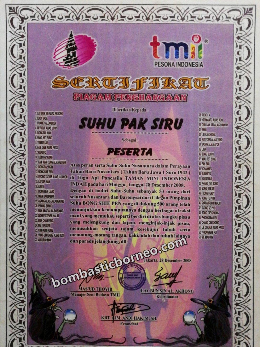 Panglima Siru, Dukun, Sifu, Healer, Shaman, dayak, Ethnic, native, Indonesia, Bengkayang, Sango, Sanggau Ledo, Travel, village, Trans Borneo,