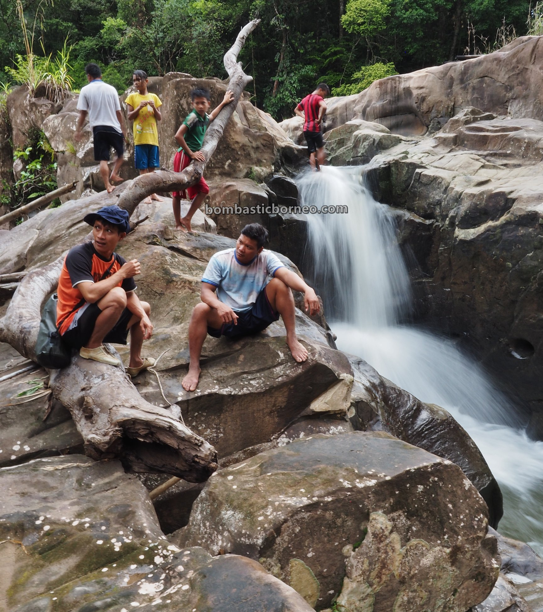 Riam Kodu, Waterfall, Dusun Simpang Empat, adventure, nature, outdoor, exploration, Indonesia, West Kalimantan, Bengkayang, tourist attraction, travel guide, native, Trans Border, Borneo,