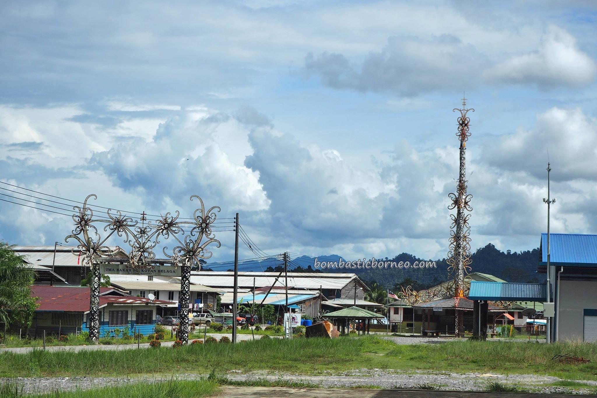 authentic, traditional, culture, Bakun Resettlement Site, Borneo, Sarawak, Malaysia, Sungai Asap, native, tribal, Dayak Kenyah, Tourism, travel guide, village, Uma Baha, Belawing Tower,