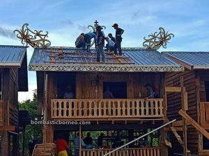 Pesta Apau Koyan, festival, event, Borneo, Malaysia, Belaga, Kapit, Sungai Asap, native, Orang Ulu, Tourism, tourist attraction, village, 马来西亚达雅文化, 砂拉越加帛巫拉甲,