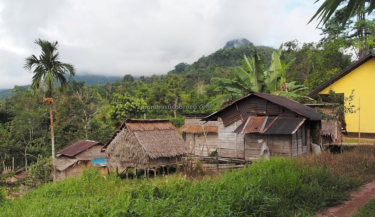 authentic, Traditional, village, destination, exploration, ethnic, native, Dayak Bidayuh, tribe, Tourism, travel guide, cross border, Borneo, 婆罗洲比达友部落, 印尼西加里曼丹