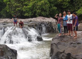 Air Terjun, Riam Kodu, Dusun Simpang Empat, adventure, outdoor, exploration, Indonesia, Bengkayang, Desa Bengkawan, Obyek Wisata, Tourism, travel guide, Trans Border, destination, 探索婆罗洲瀑布, 印尼西加里曼丹