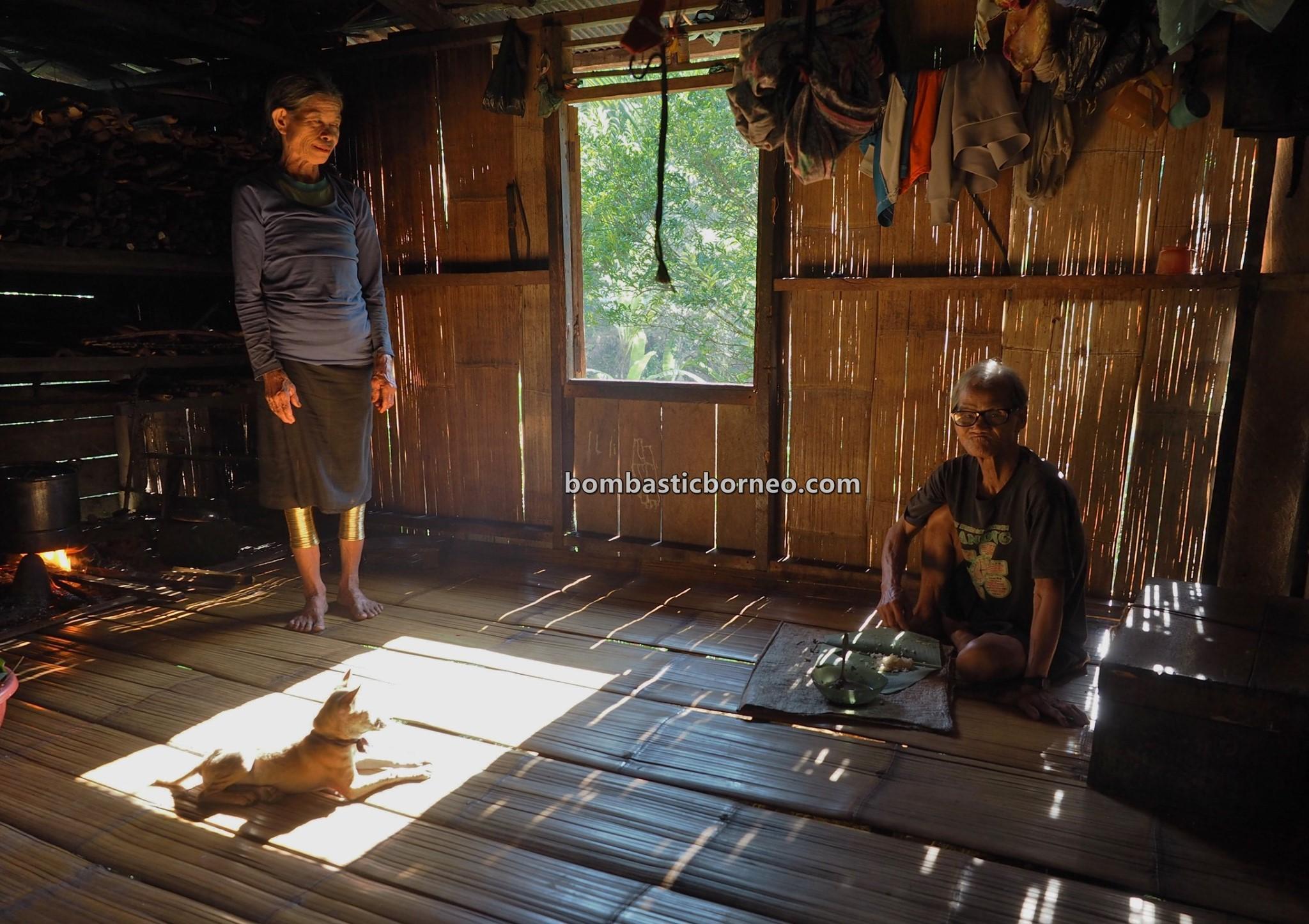 Copper Ring Lady, Sungkung Medeng, traditional, indigenous, Bengkayang, Indonesia, Kalimantan Barat, native, Dayak Bidayuh, tribal, village, Tourism, tourist attraction, Travel guide, Trans Border, Borneo