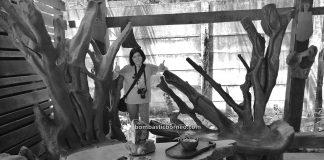 belian wood, kayu ulin, Furniture, collection, gallery, Singkawang, kerajinan kayu, nature, Tourism, tourist attraction, travel guide, wood sculptures, 探索婆罗洲木雕, 西加里曼丹山口洋, 南洋铁木展示中心