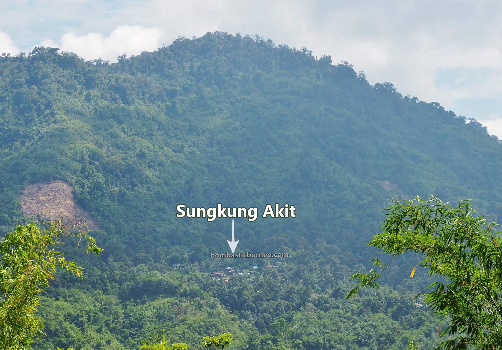 Gunung Sinjang, adventure, motorbike ride, authentic, traditional, exploration, native, Highland, Village, Tourism, travel guide, Cross Border, Borneo, 印尼西加里曼丹, 孟加映原住民部落,