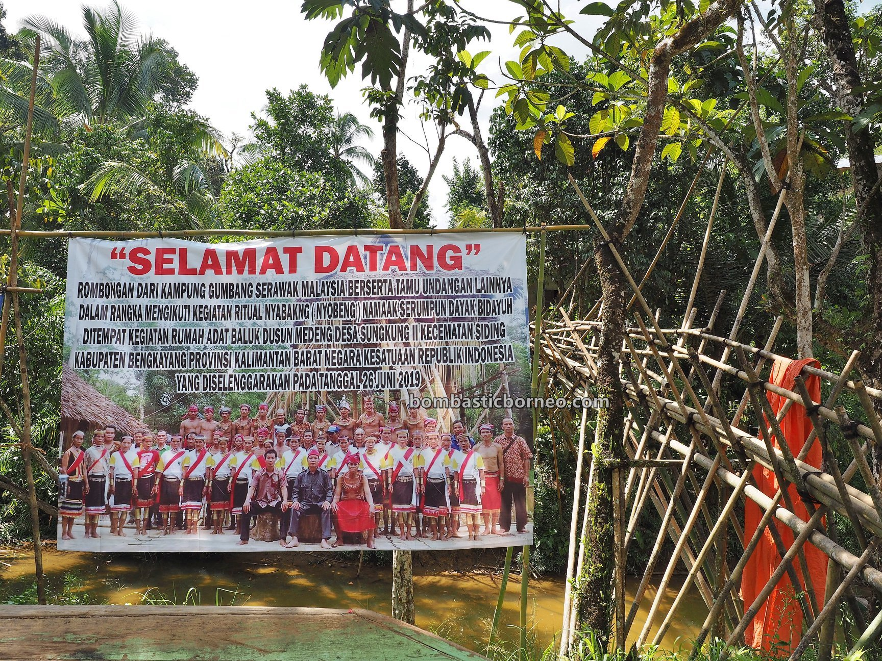 Sungkung Anep, traditional, indigenous, destination, West Kalimantan, Siding, Dayak Bidayuh, tribal, Gawai harvest festival, Tourism, Trans Border, Borneo, 探索婆罗洲游踪, 印尼达雅丰收节日, 西加里曼丹孟加映