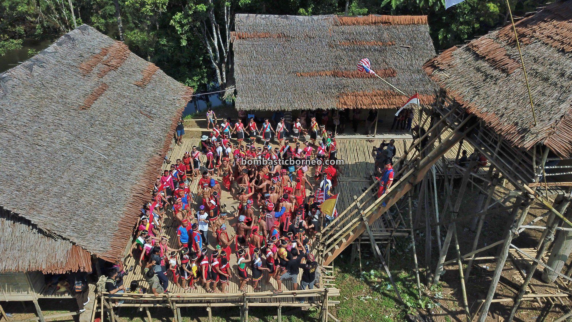harvest festival, Sungkung Anep, authentic, traditional, culture, Indonesia, Dayak Bidayuh, native, highland, village, travel guide, Trans Border, Borneo, 跨境婆罗洲游踪, 西加里曼丹传统文化, 原住民丰收节日