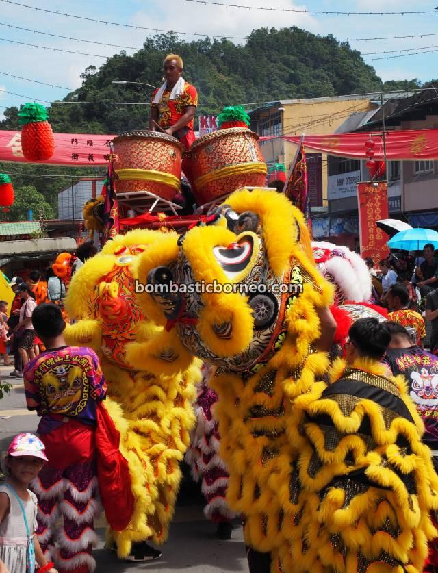 Chap Goh Meh, Lantern Festival, procession, Chinese New Year, culture, authentic, Bau, Kuching, Sarawak, Malaysia, Lion Dance, Tarian Singa, Tahun Baru Imlek, Tourism, Borneo,