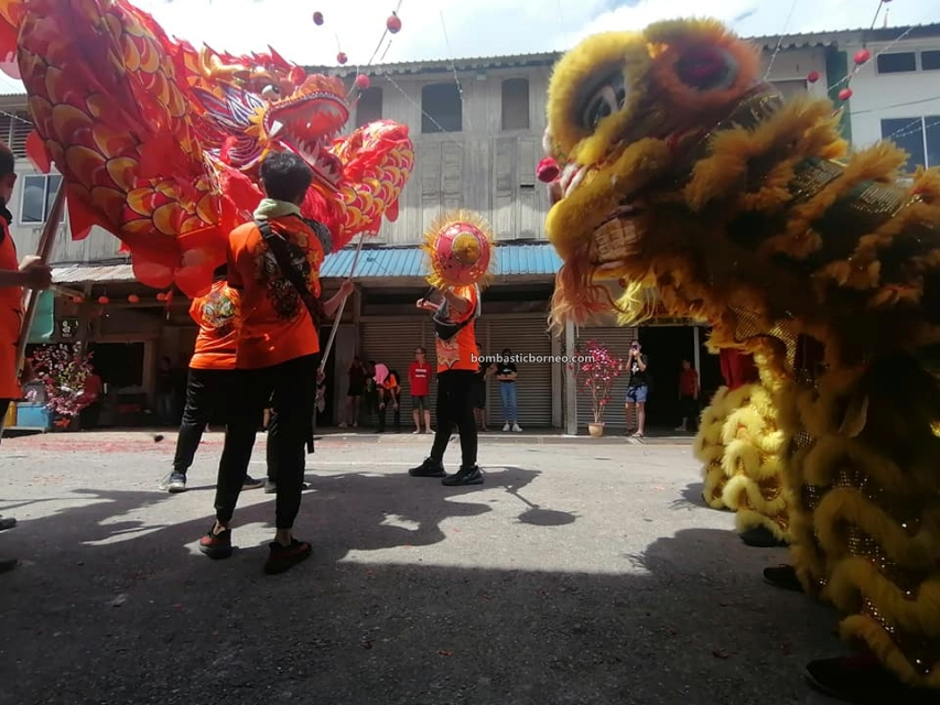 Lantern Festival, parade, traditional, Hakka town, Bau, Kuching, Malaysia, Lion Dance, Tarian Naga, Tahun Baru Imlek, Tourism, Travel Guide, Borneo, 砂拉越古晋石隆门, 新尧湾元宵节舞狮游神, 客家华人传统文化,