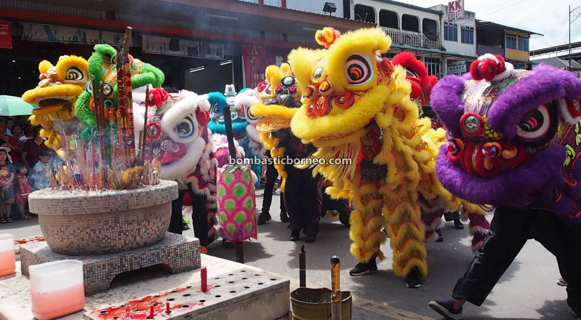 Lantern Festival, parade, Chinese New Year, budaya, authentic, Hakka town, Sarawak, Malaysia, Tarian Naga, tourist attraction, Travel Guide, Trans Borneo, 穿越婆罗洲元宵节, 古晋石隆门舞狮, 华人传统文化,