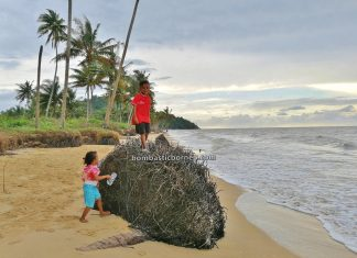 Pantai, adventure, nature, Malay fishing village, Indonesia, West Kalimantan, Jawai Laut, Obyek wisata, Tourism, travel guide, destination, 探索婆罗洲游踪, 印尼西加里曼丹, 三发海滩