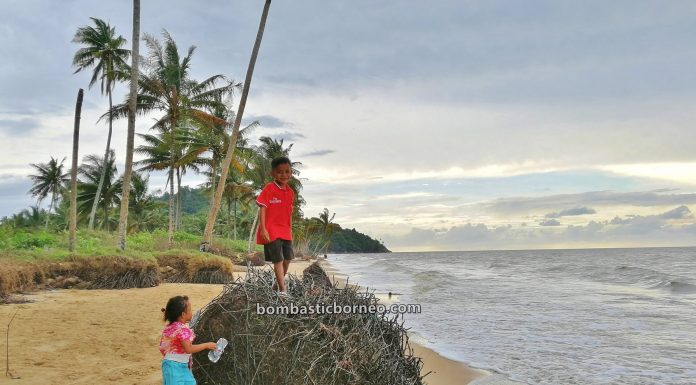 Pantai, adventure, nature, Malay fishing village, Indonesia, West Kalimantan, Jawai Laut, Obyek wisata, Tourism, travel guide, destination, 探索婆罗洲游踪, 印尼西加里曼丹, 三发海滩