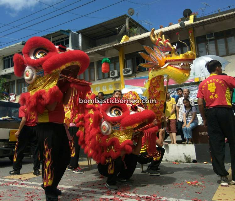 Chap Goh Meh, Lantern Festival, procession, Chinese New Year, culture, traditional, Dragon Dance, Tahun Baru Cina, Ethnic, tourist attraction, Travel Guide, Trans Border, Borneo, 砂拉越古晋石隆门, 客家人传统文化, 元宵节舞狮游神
