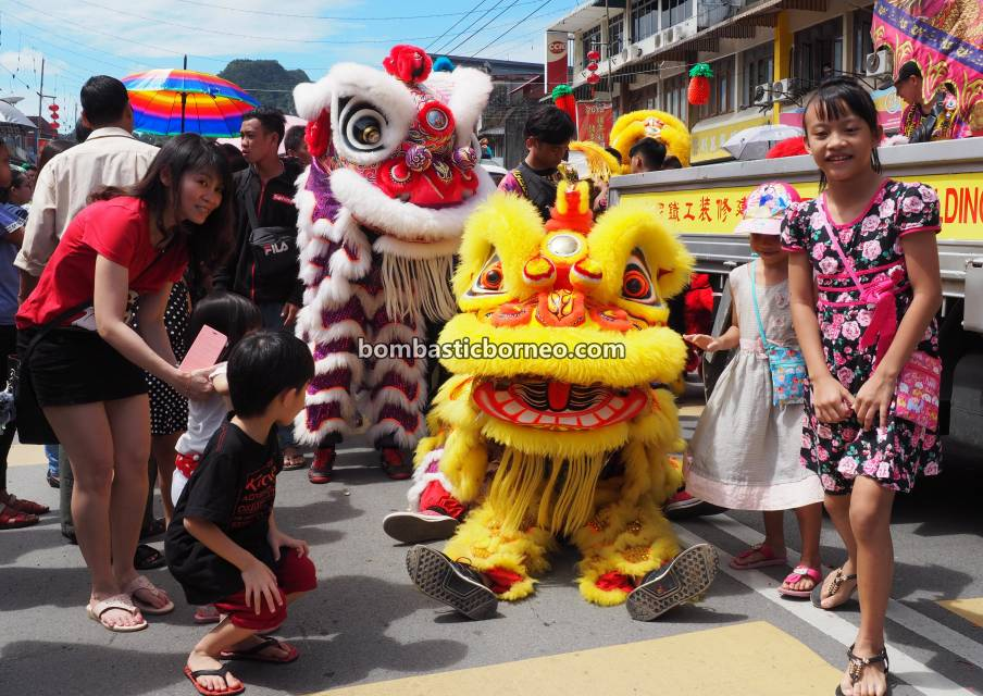 Chap Goh Meh, Lantern Festival, parade, budaya, destination, Chinese culture, traditional, Lion Dance, Ethnic, Tahun Baru Imlek, Tourist attraction, Trans Borneo, 马来西亚砂拉越, 古晋石隆门, 元宵节舞狮舞龙游神