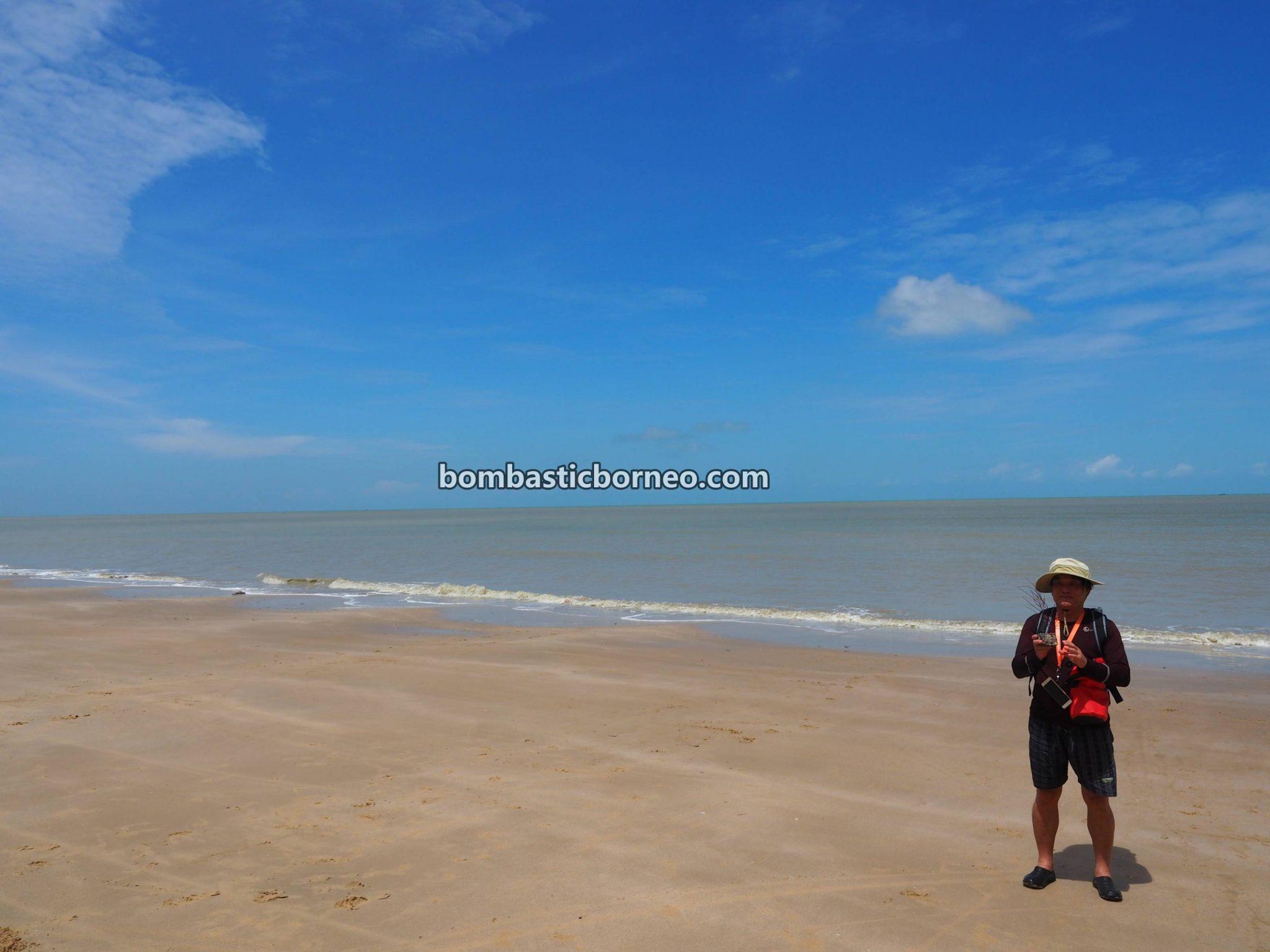 Pantai Putri Serayi, beach, nature, fishing village, Kampung Melayu, Sambas, Indonesia, West Kalimantan, Jawai Laut, wisata alam, Tourism, travel guide, destination, Borneo, Trans Border
