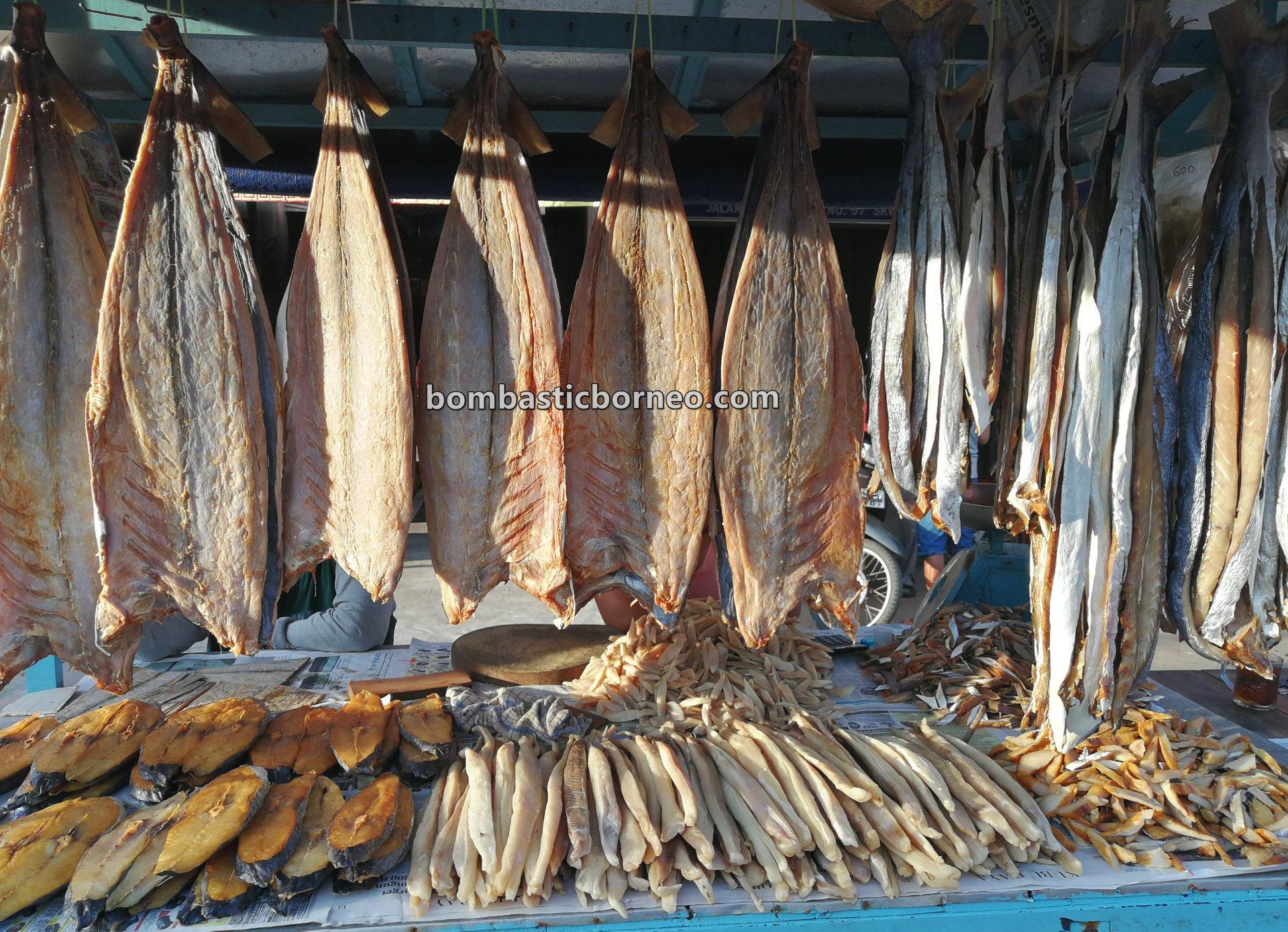 Pasar Turi, Morning Market, authentic, tradisional, destination, Indonesia, Kalimantan Barat, Kota Singkawang, seafood, salted fish, ikan asin, Obyek wisata, Tourism, travel guide, Borneo, makanan laut