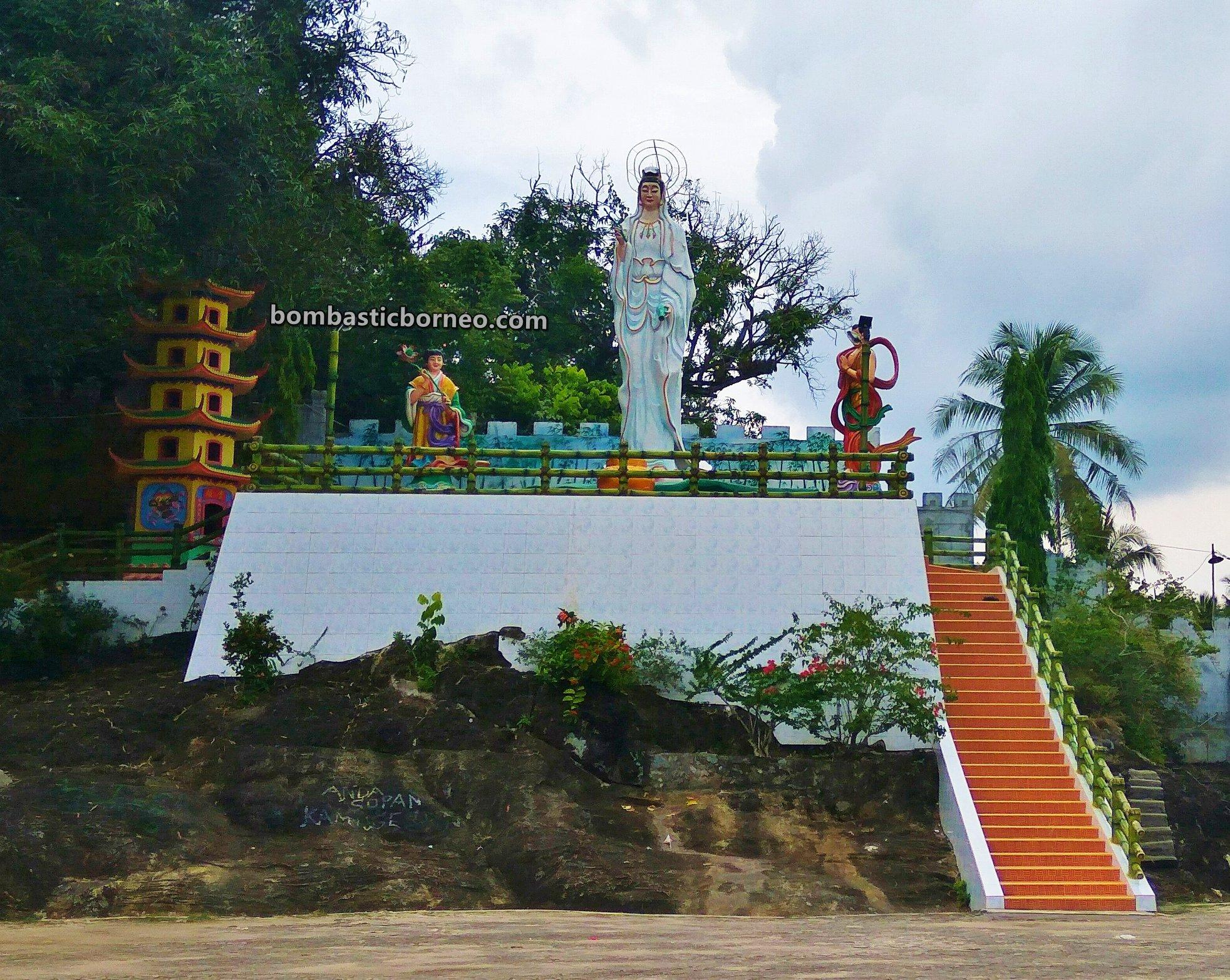 Kampung Cina, guan yin temple, Sambas, Indonesia, Kalimantan Barat, Sebangkau, Pemangkat, Obyek wisata, Tourism, tourist attraction, travel guide, Vihara Tri Dharma Buddha, Trans Borneo, destination,