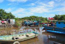 Kampung Nelayan Melayu, Malay Fishing Village, authentic, traditional, backpackers, destination, Indonesia, Kalimantan Barat, Kota Singkawang, Kelurahan Kuala, Tourism, tourist attraction, travel guide, Borneo, cross border