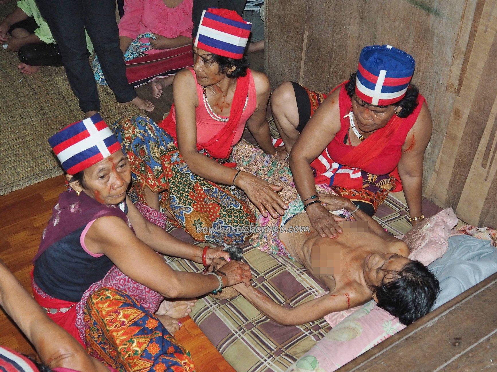 spiritual healing, shaman, dukun, ritual, traditional, culture, Ethnic, Indigenous, Dayak Bidayuh, Kuching, Sarawak, village, Travel guide, Trans Border, Borneo,