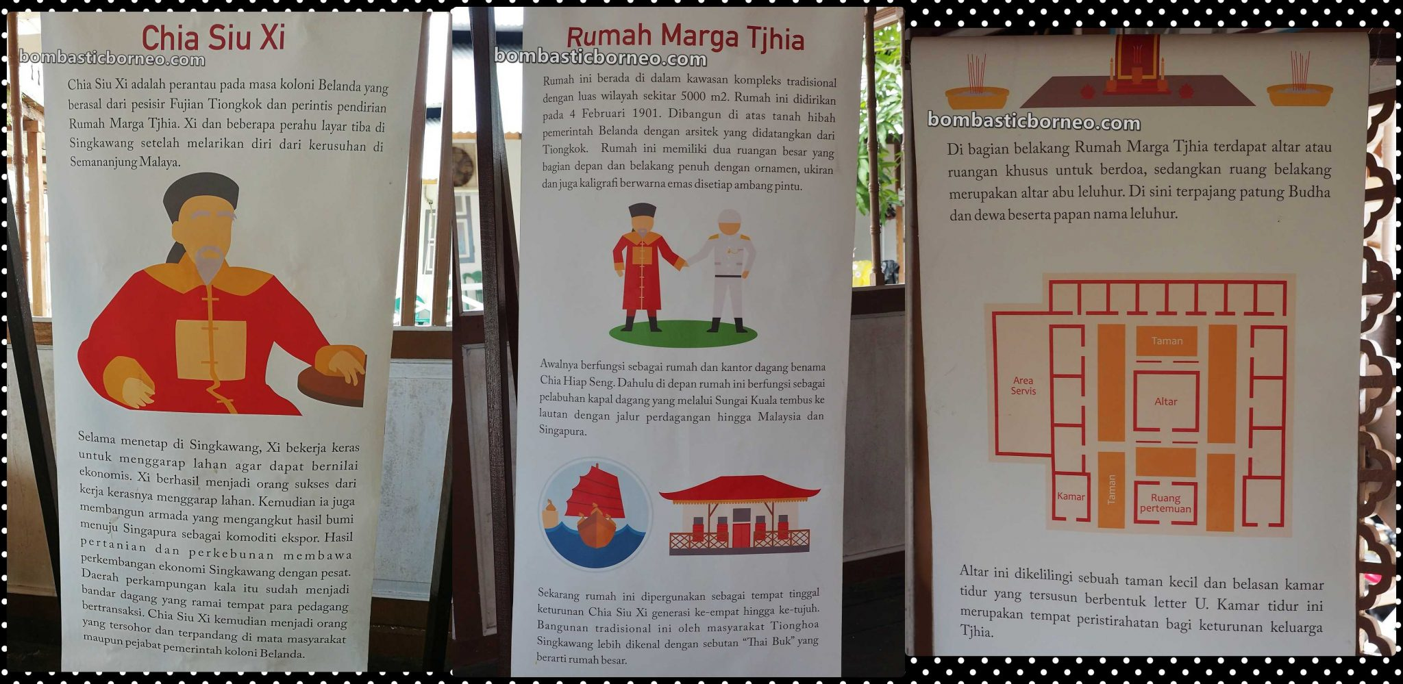 Bangunan Cagar Budaya Rumah Marga Tjhia, antique, authentic, traditional house, chinese, heritage, museum, backpackers, Indonesia, Tourism, tourist attraction, Trans Borneo, 穿越婆罗洲华侨, 西加里曼丹山口洋, 謝守時历史遗产