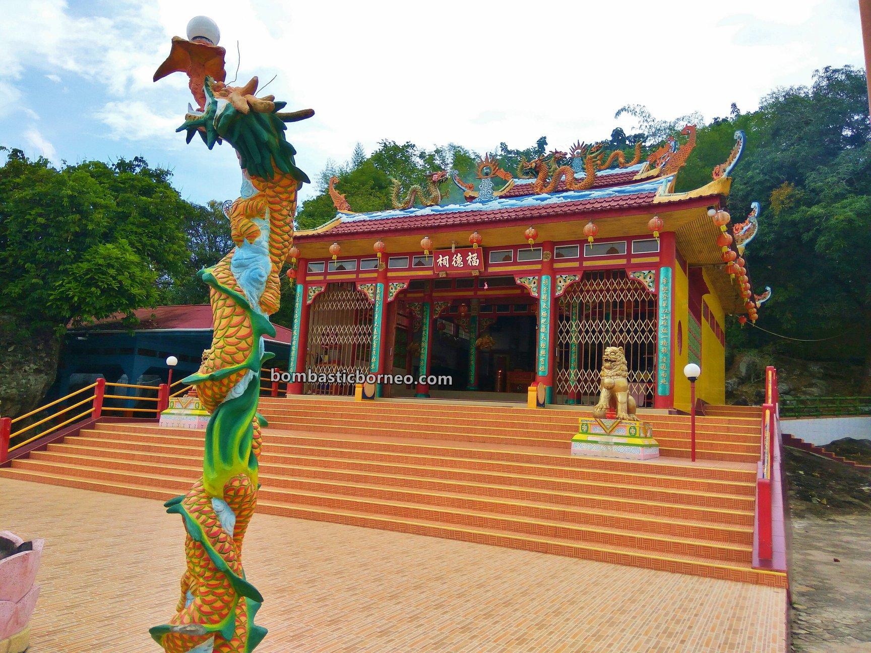Guan Yin temple, village, Indonesia, Kalimantan Barat, Obyek wisata, tourist attraction, travel guide, Trans Borneo, 跨境婆罗洲游踪, 印尼西加里曼丹, 三发邦戛庙