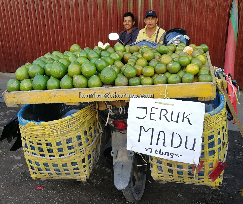 Pasar Turi, fruits, Jeruk Madu, Local Market, authentic, tradisional, Kota Amoi, obyek wisata, tourist attraction, travel guide, Cross Border, 印尼西加里曼丹, 山口洋早市