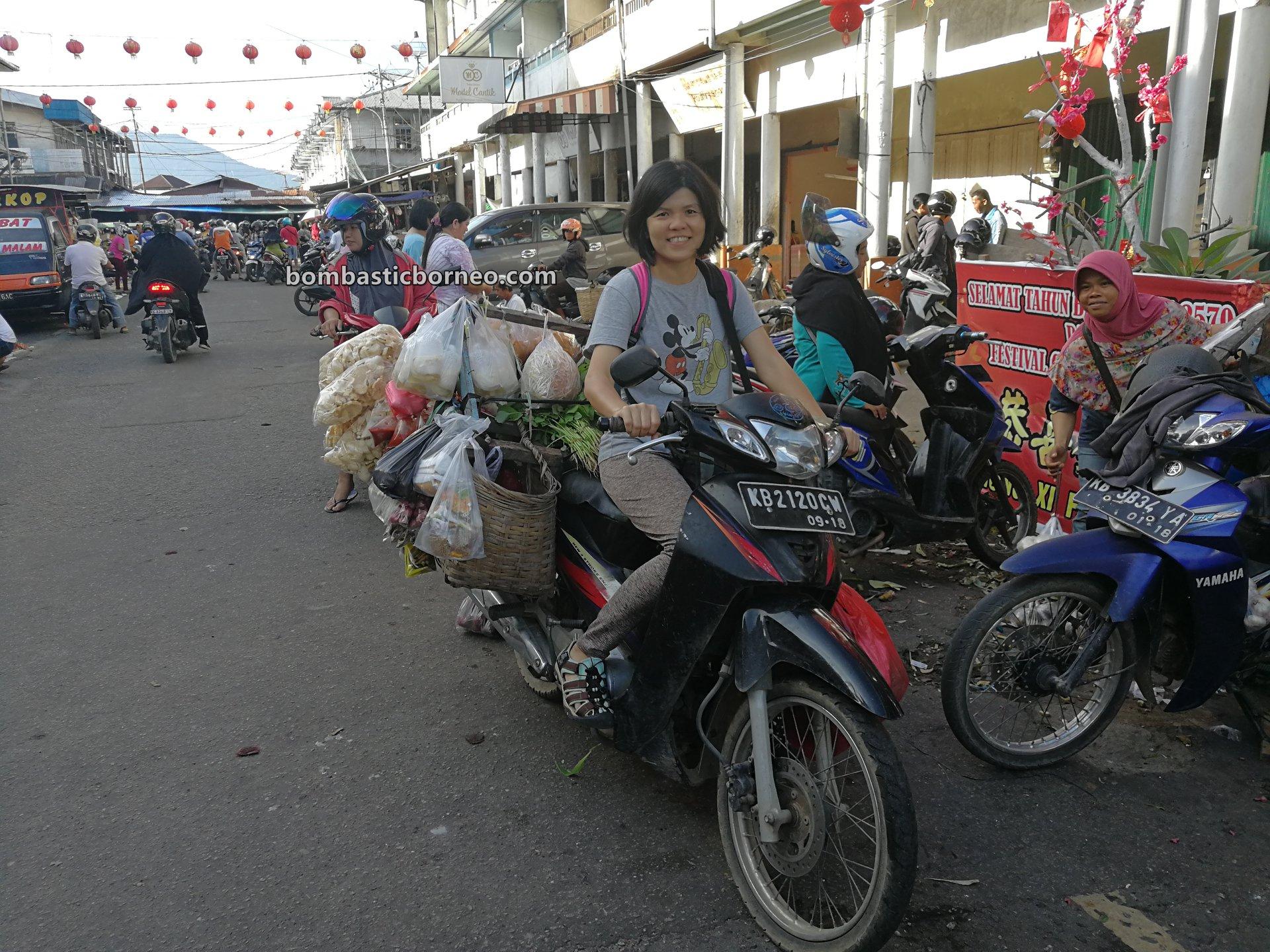 Pasar Turi, authentic, traditional, Indonesia, Kota Amoi, seafood, sayuran, vegetable, Tourism, tourist attraction, Trans Borneo, 婆罗洲旅游景点, 印尼西加里曼丹, 山口洋早市