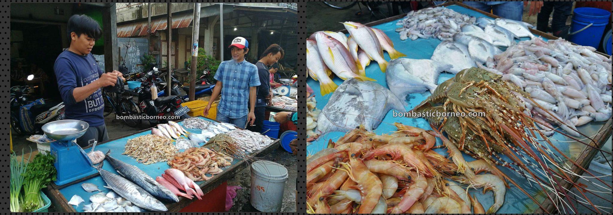 Pasar Turi, Morning Market, traditional, Kalimantan Barat, seafood, fish, lobster, Tourism, tourist attraction, travel guide, Trans Border, Borneo, 跨境婆罗洲游踪, 印尼西加里曼丹, 山口洋早市