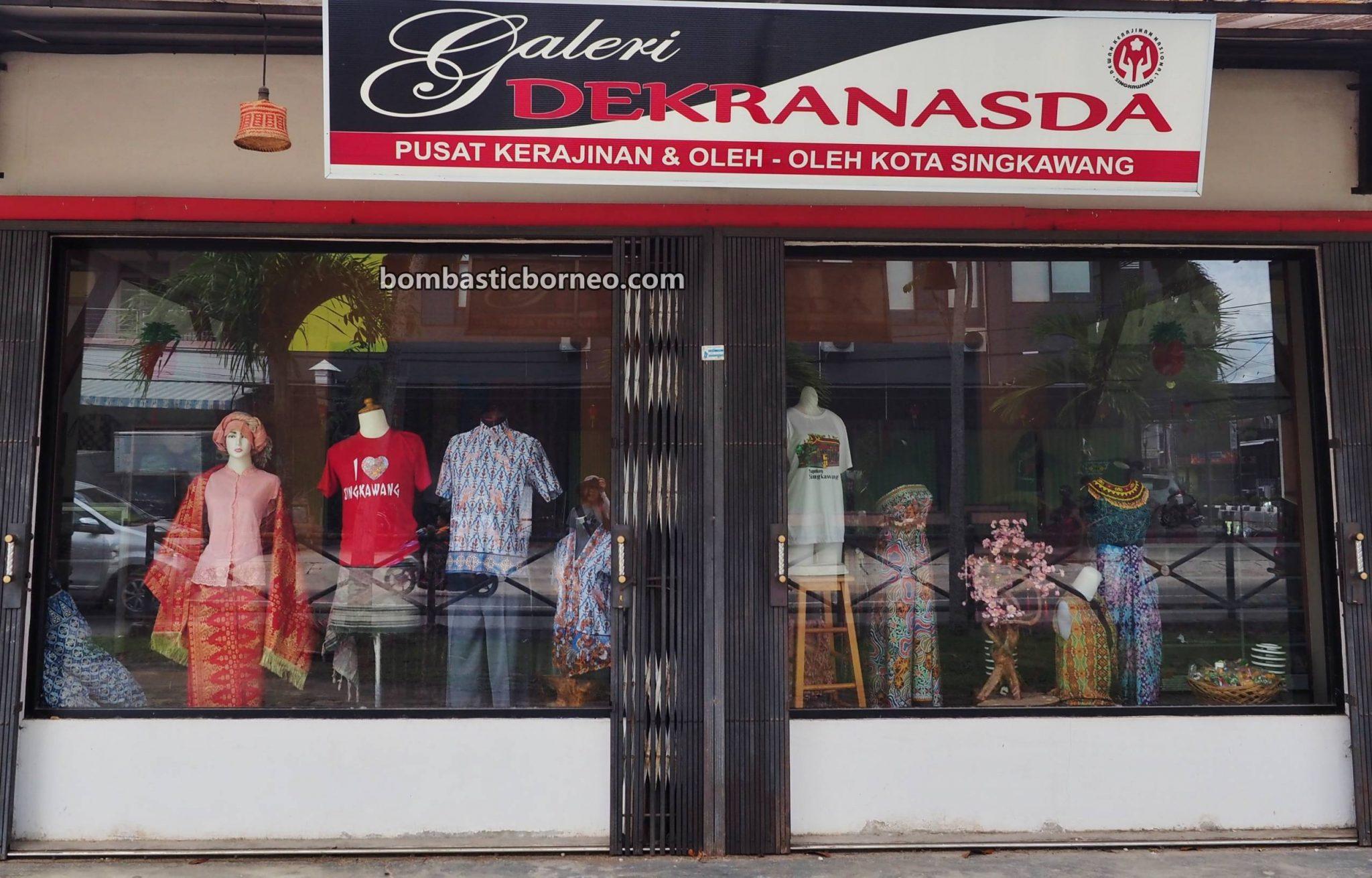 souvenir, crafts centre, backpackers, destination, Rattan products, rotan, tourism, tourist attraction, travel guide, Borneo, 婆罗洲西加里曼丹, 印尼山口洋