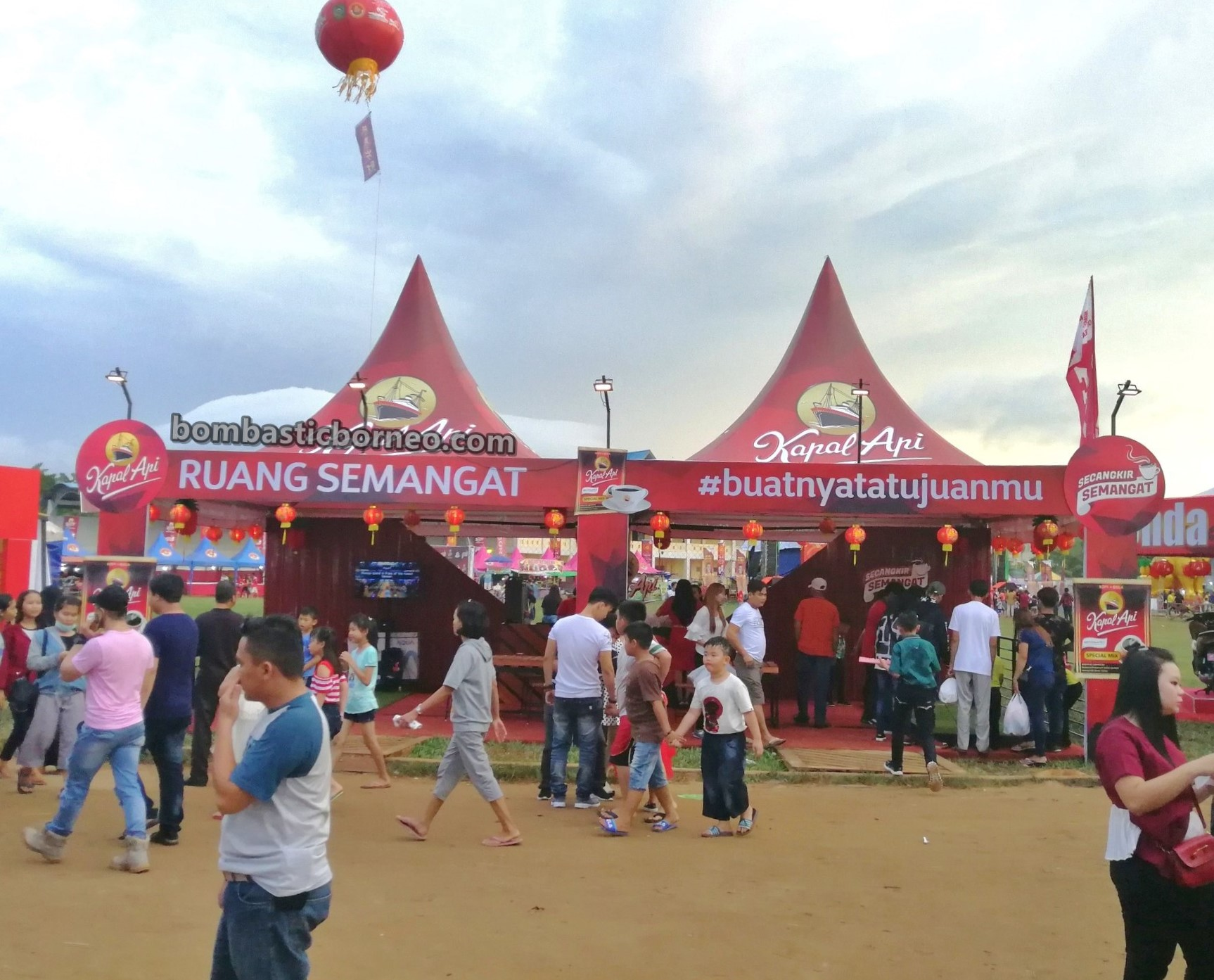 Stadion Kridasana, culture, Chinese New Year, festival, backpackers, destination, Indonesia, Kalimantan Barat, Tourism, tourist attraction, travel guide, Trans Borneo,