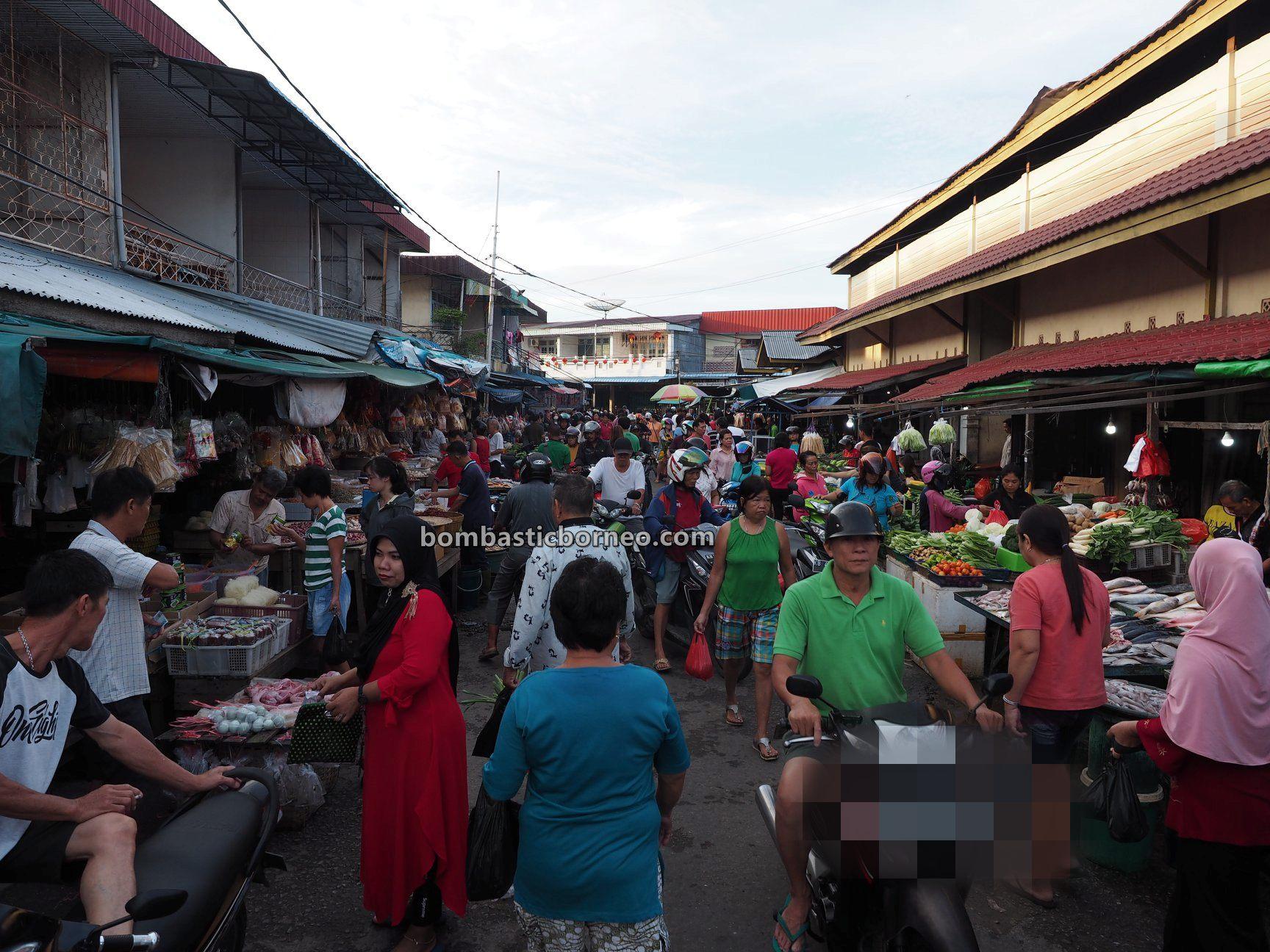 Pasar Turi, authentic, destination, Kota Amoi, seafood, fish, sayuran, vegetable, Tourism, tourist attraction, travel guide, Cross Border, Borneo, 印尼西加里曼丹, 山口洋早市