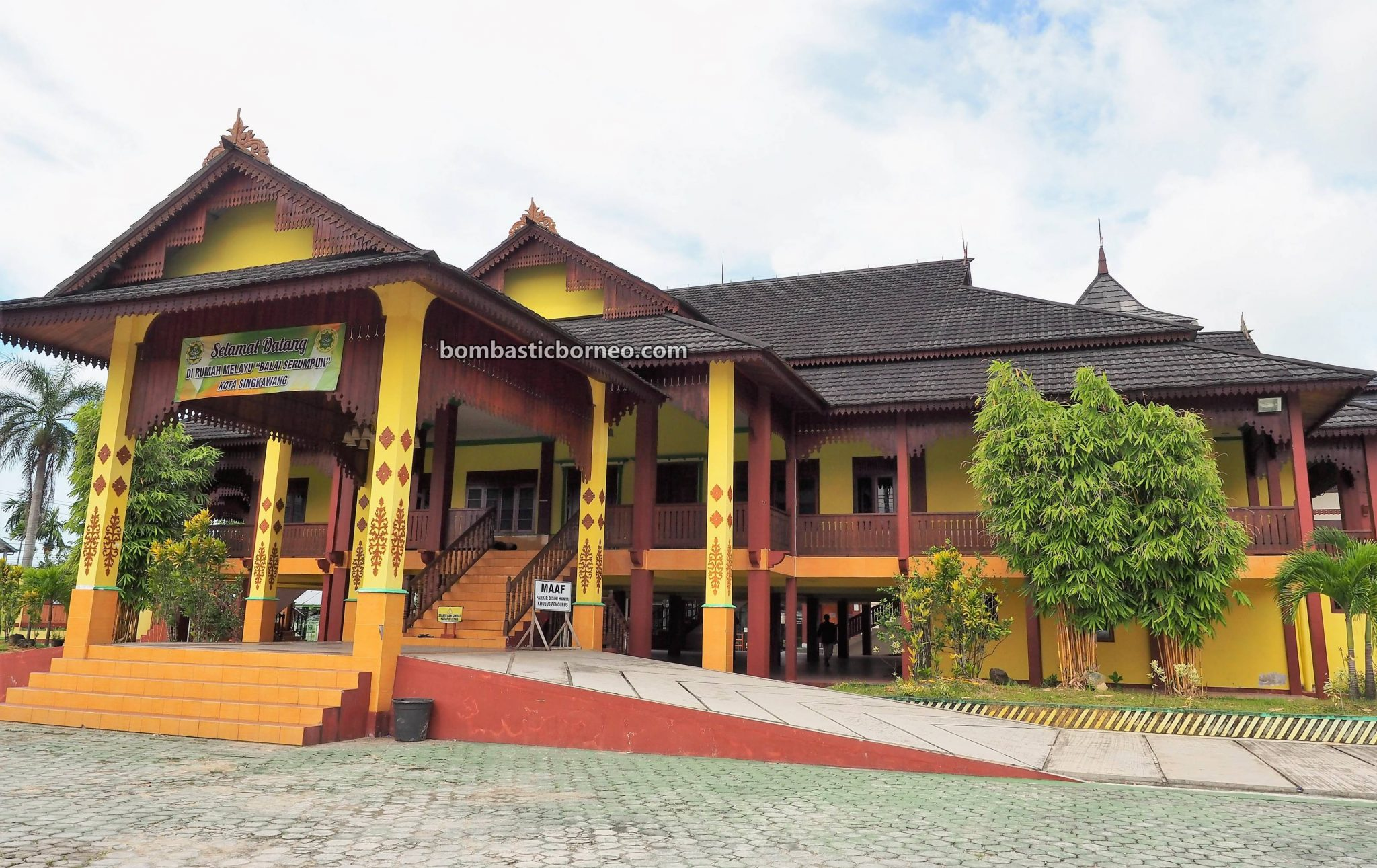 authentic, budaya, culture, Rumah Melayu, destination, Ethnic, Indonesia, tourist attraction, Tourism, Obyek wisata, travel guide, Trans Border, 印尼西加里曼丹, 山口洋旅游景点