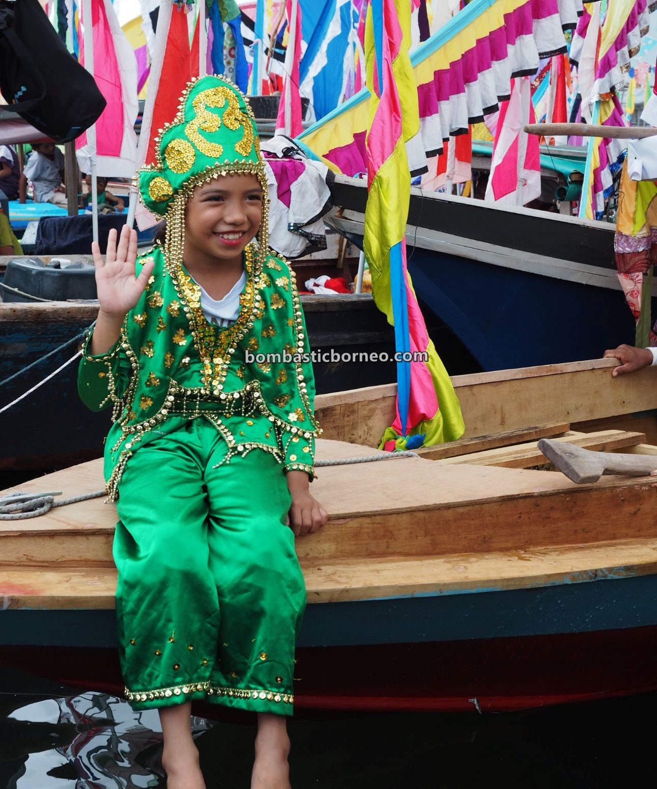 Water Festival, parade, Pesta Regatta Lepa, Sea Gypsies, Suku Bajau Laut, ethnic, budaya, traditional, indigenous, Semporna, Sabah, Malaysia, Tourist attraction, travel guide, Borneo,