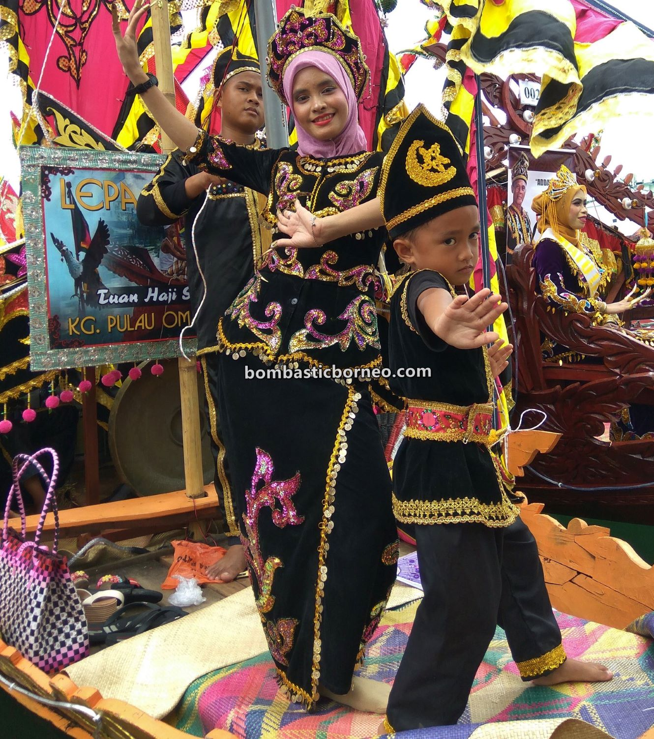 Water Festival, parade, Pesta Regatta Lepa, Sea Gypsies, Suku Bajau Laut, ethnic, culture, traditional, indigenous, Semporna, Sabah, Tourism, travel guide, Trans Border, Borneo,